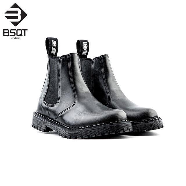 BSQT 993 Bottines Chelsea paniers chaussures Hauteur AugHommestation Chaussures Ascenseur