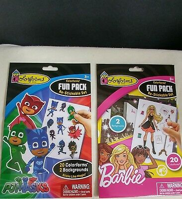 Colorforms Fun Pack Barbie