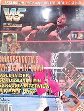 WWF WWE Magazin 10/1995 Bret Hitman Hart 123 Kid