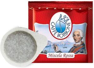 300-CIALDE-CARTA-CAFFE-039-BORBONE-MISCELA-ROSSA-ROSSO-ESE-44-MM-FRESCHE-ORIGINALI