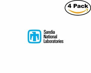 Sandia-National-Laboratories-4-Stickers-4X4-inches-Sticker-Decal