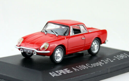 Alpine Renault A 108 Coupe 2+2  rot 1961 1:43 UH Universal Hobbies