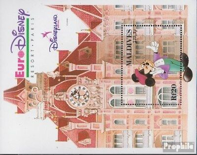 Forceful Maldives Block269 (complete Issue) Unmounted Mint / Never Hinged 1992 Vergnügung