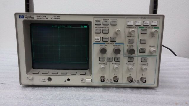 HP / Agilent 54601A 4 Channel 100 MHz Oscilloscope