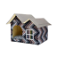thumbnail 14 - Pet-Cat-Dog-House-Kennel-Puppy-Cage-Warm-Cushion-Soft-Bed-Sleeping-Cave-Nest-Den