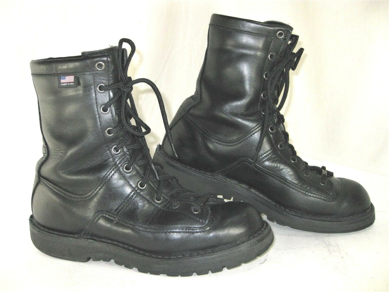 DANNER Boot Black Lace Up Mens 8 D 69410 200G GTX Recon USA Duty Work Combat