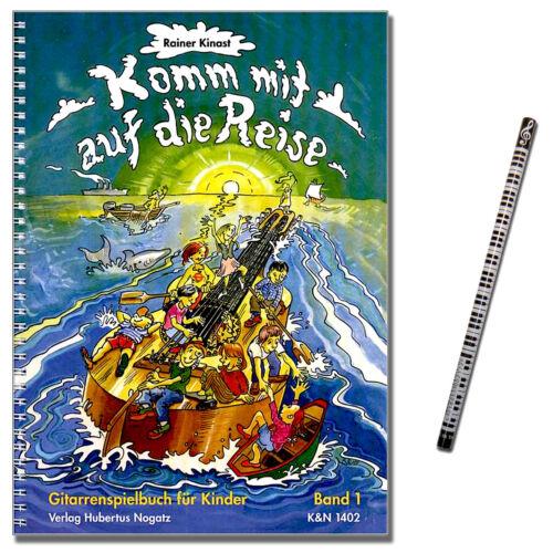 MusikBleistift KN1402-9990051299571 Rainer Kinast Komm mit auf die Reise