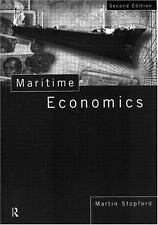 Maritime Economics Second Edition by Stopford, Martin