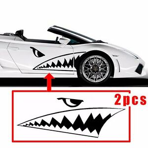 130cm Full Size Shark Mouth Tooth Flying Tiger Die Cut