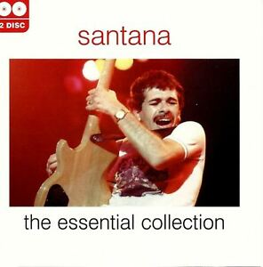 SANTANA-the-essential-collection-2X-CD-compilation-greatest-hits-best-of