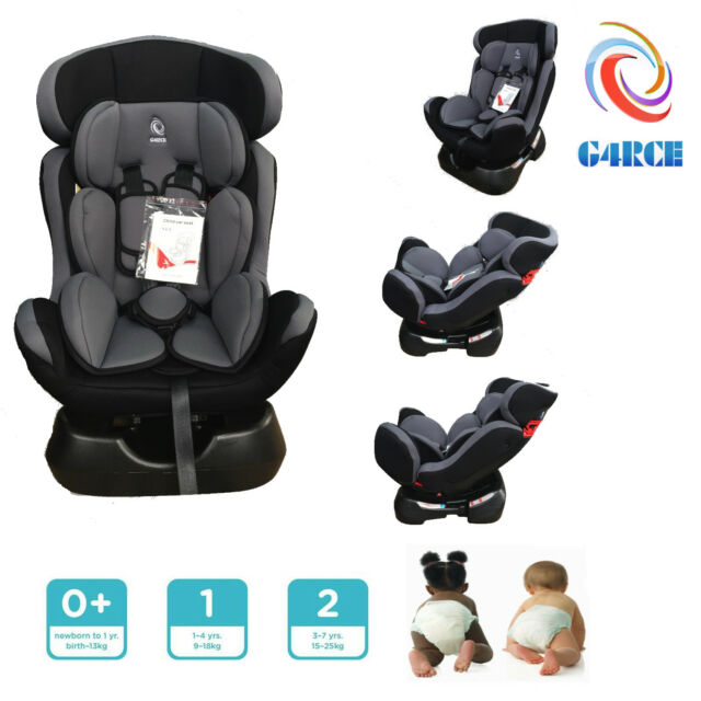 G4RCE 3 in 1 Baby Child Car Safety Booster Seat for Group 0/1/2 25kg