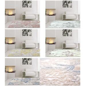 Das Bild Wird Geladen Teppich Hochwertig Wohnzimmer  Berna 3D Acryl Ornamente Gelb
