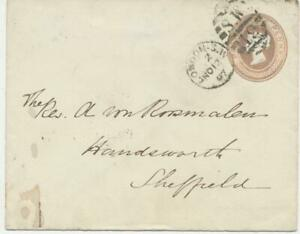 GB-1887-QV-1d-pink-postal-stationery-env-w-Duplex-cancel-LONDON-S-W-S-W-19