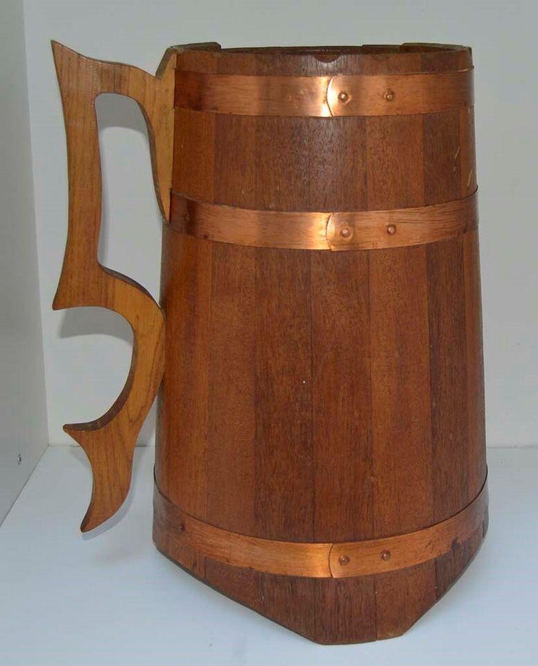 Bar formet som stort ølkrus, Retro