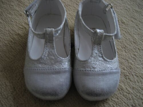 8df27bf26012 £30 Monsoon Condition Good Silver 5 Girls Shoes Size Rrp Uk ffqwaz