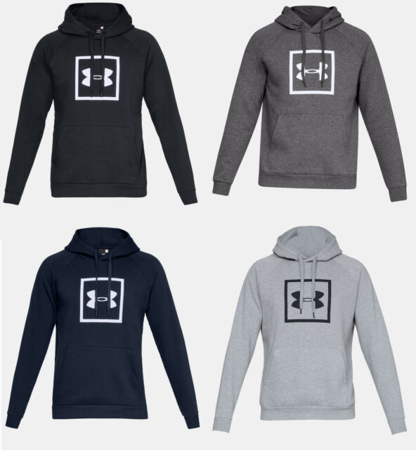 Under Armour Mens Rival Fleece Fitted Hoodie