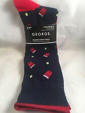 New Mens Crew Socks Beer Pong Shoe Size 6-12 Gag Gift Funny Alcohol Drinking