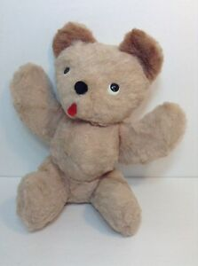 Vintage Musical Bantam Teddy Bear Plush Swisstone Music Box Stuffed