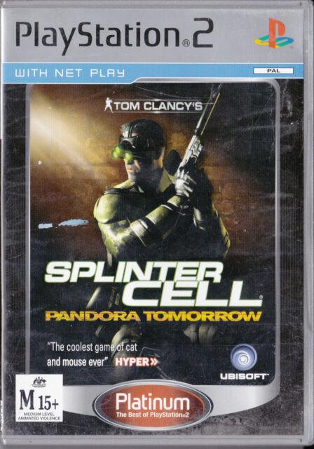 Tom Clancy's Splinter Cell Pandora Tomorrow  (Platinum)