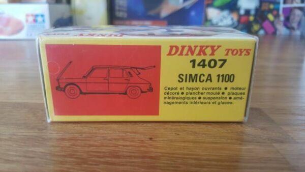 Simca 1000 Rally 2 Certif 1 Sheet Dinky Toys Atlas Repro Ref 520.S