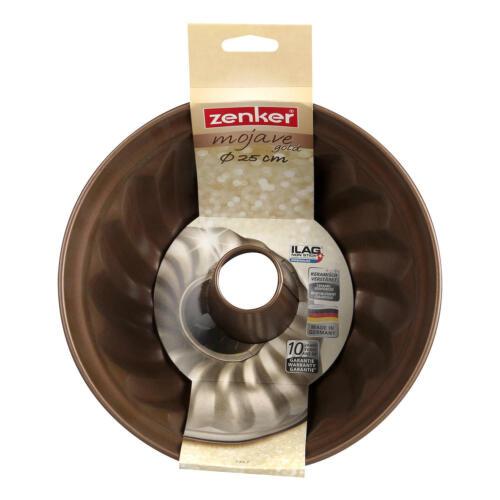 Zenker Mojave Gold Gugelhupfform Gugelhupf Form Kuchen Backform Kuchenform Ø25cm