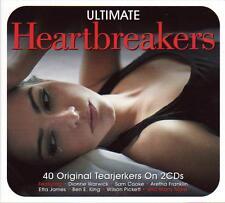 ULTIMATE HEARTBREAKERS - 40 TEARJERKERS - VARIOUS ARTISTS (NEW SEALED 2CD)