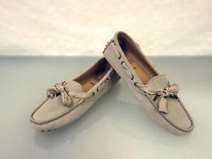 720-BRUNELLO-CUCINELLI-Loafer-Slipper-Gr-40-College-Shoes-Schuhe-Schleife-Grau