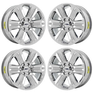 "Ford F150 Factory Rims For Sale >> 20"" FORD F150 KING RANCH PVD CHROME WHEELS RIMS FACTORY OEM SET 4 2019 10171 