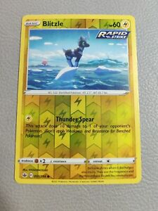 Blitzle Reverse Holo | NM | SWSH Chilling Reign 050/198 | Pokemon