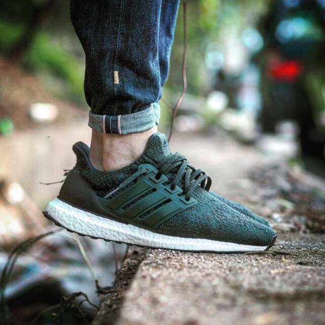 adidas Ultra Boost 3.0 Green Night