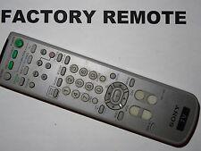 SONY RM-Y180 TV REMOTE CONTROL  KV20FS120, KV20FV300, KV21FA210 KV32FS100