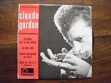 Claude Garden à l'hamonica - disque fontana 460.072