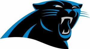 """Carolina Panthers NFL Vinyl Decal Sticker Reflective OFFICIAL NFL 3"""" Decal"""