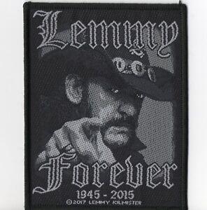Motorhead-Lemmy-Forever-Woven-Patch