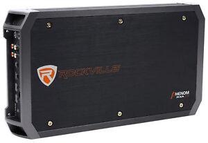 New-Rockville-RXA-T2-2400-Watt-Peak-1250w-RMS-2-Channel-Amplifier-Car-Stereo-Amp