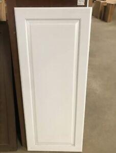 White Kitchen Cabinet Raised Panel Door 18 5 X 39 5 Ebay