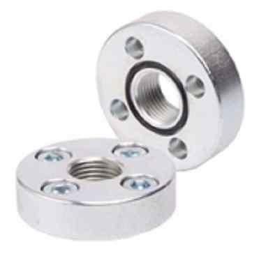 Bride de pompe hydraulique pour pompe engrenages raccord hydraulique fileté