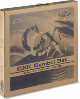 Stagg Cxk-set Brass Standard Cymbal Set With 14-inch Hi-hats, 16-inch Crash And on Sale