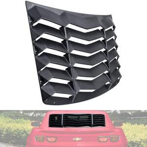 Rear-Window-Louver-Hood-Scoop-Vent-Sun-Shade-GT-Lambo-For-Chevy-Camaro-2010-2015