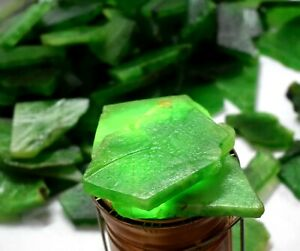 Wholesale Lot 1000 Carat Natural Colombian Green Emerald Gemstone Slab Rough