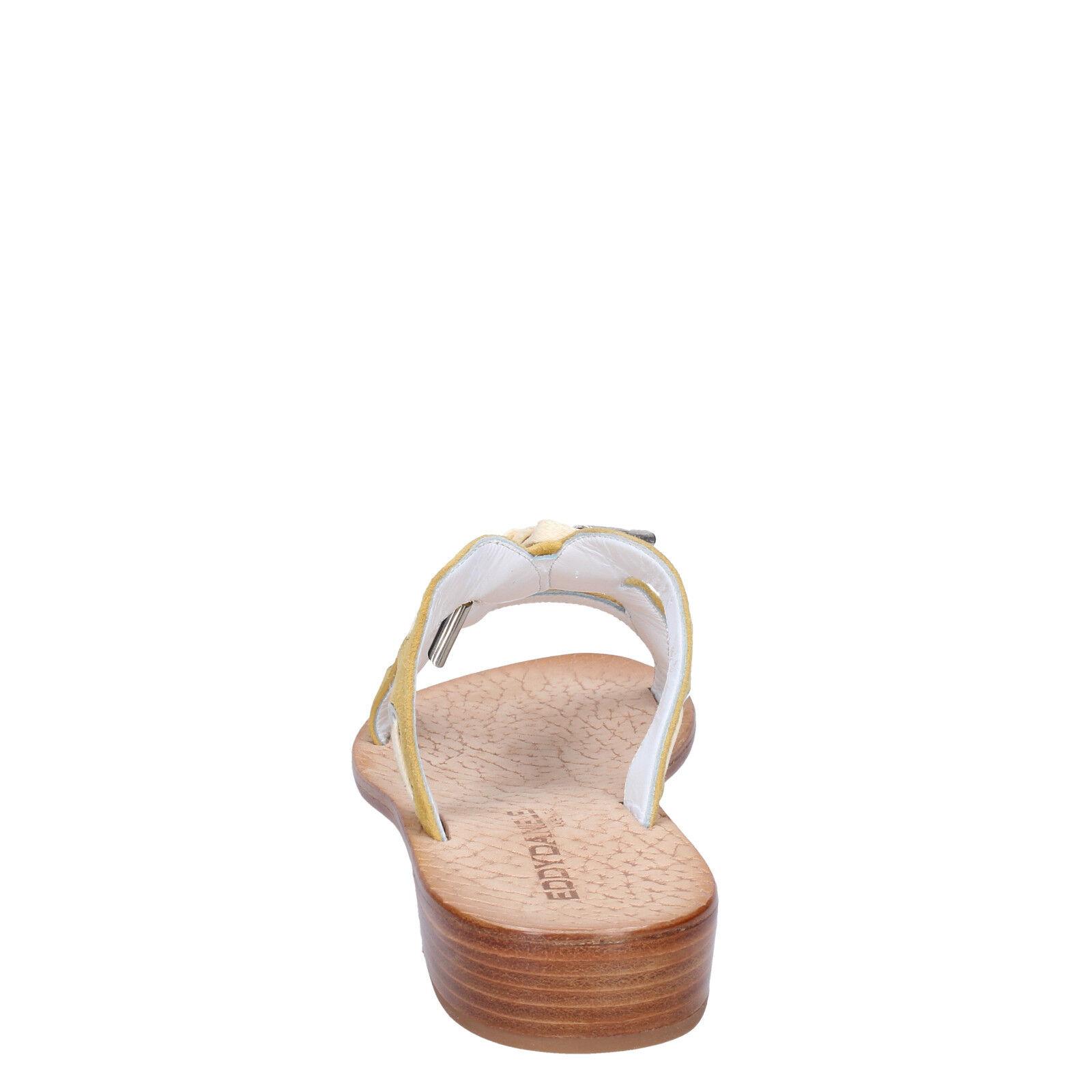 Scarpe da donna EDDY DANIELE 4 (EU 37) sandali giallo giallo giallo camoscio AW334-37 90841c