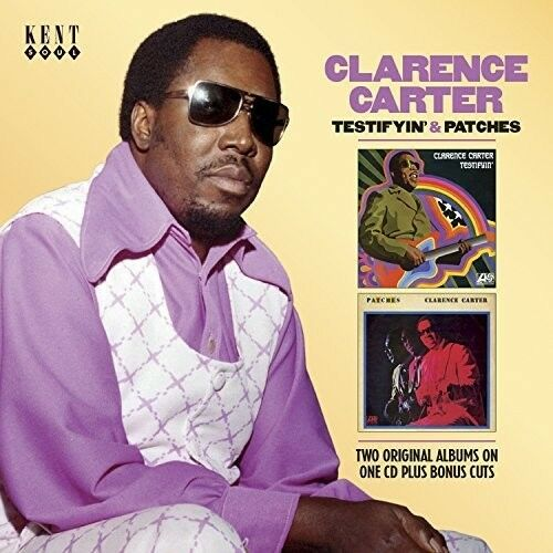 Clarence Carter - Testifyin & Patches [New CD] UK - Import