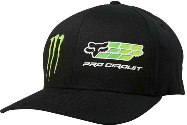 Fox Racing Pro Circuit Flexfit Hat Mens Lid Cap Curved Bill MX MTB Motocross