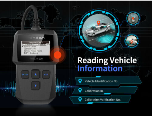 TOPDON OBD2 Diagnosegerät OBDII Code-Scanner-Fahrzeug-Fehlercodeleser Deutsch