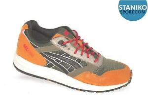new styles f0afc 307ff Details about Mens ASICS GEL SAGA Olive Dark Brown Trainers H42SQ 8628