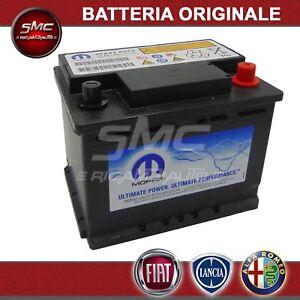 BATTERIA-AUTO-START-amp-STOP-60-AH-500A-ORIGINALE-FIAT-71777953-ALFA-LANCIA