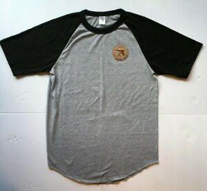 NEW-Glock-Handguns-Baseball-Style-T-shirt-Grey-Black-Sizes-S-M-L-XL-XXL