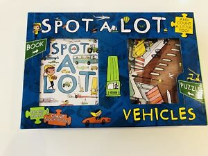 Spot A Lot Vehicles Board Book amp Big Jigsaw And Count a Little Too by Steve S - Birmingham, West Midlands, United Kingdom - Spot A Lot Vehicles Board Book amp Big Jigsaw And Count a Little Too by Steve S - Birmingham, West Midlands, United Kingdom
