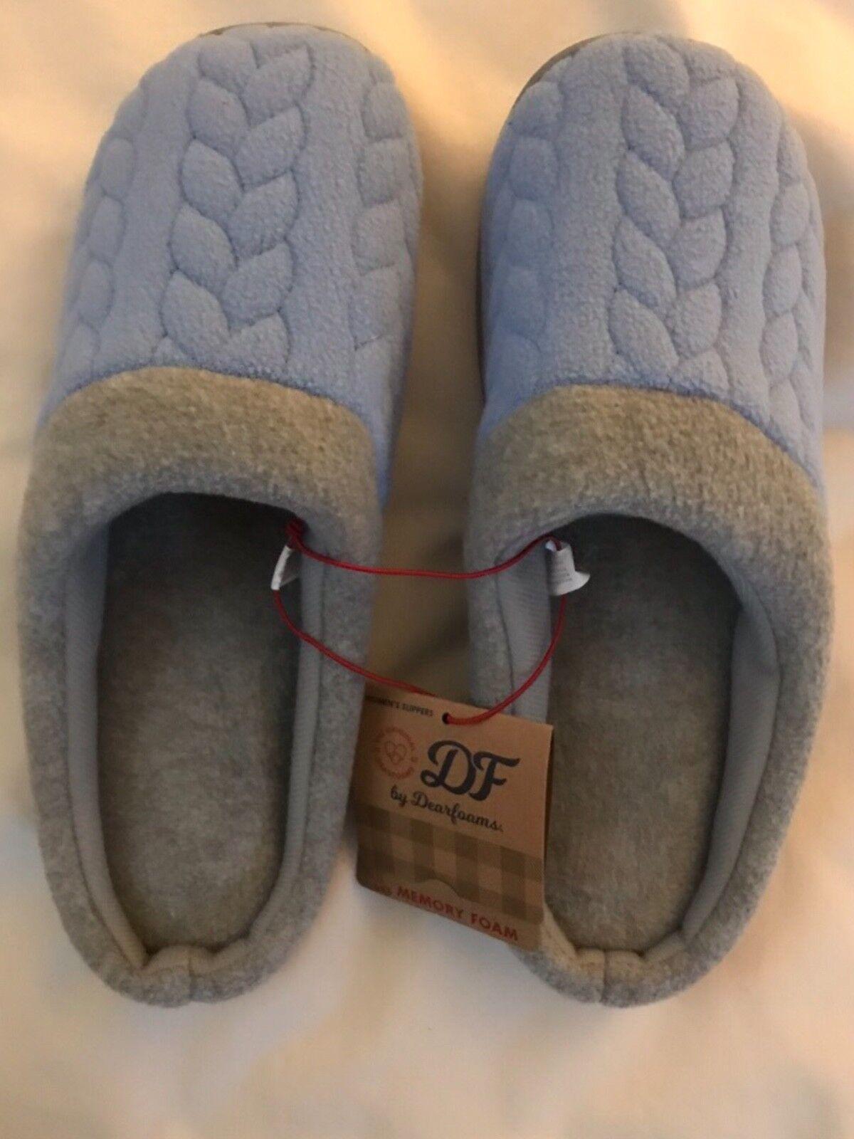 NEW Women's Dearform Slippers Clog Slippers Dearform Size L(9-10) 79c559