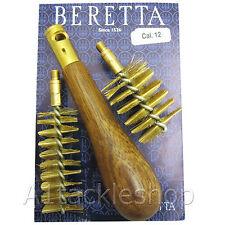 NEW Beretta Shotgun Choke & Chamber Cleaning Brush 12G Clay Field or Auto